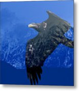 Fly Wild Fly Free Metal Print