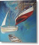 Flying Boats Metal Print