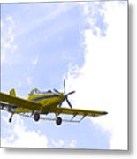 Flying By Wire 1 Of 6 Metal Print