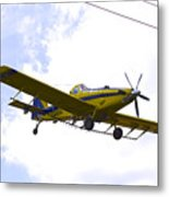 Flying By Wire 3 Of 6 Metal Print