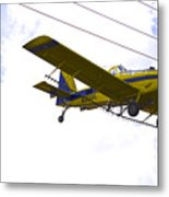 Flying By Wire 4 Of 6 Metal Print