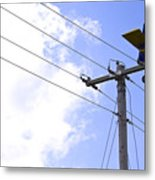Flying By Wire 6 Of 6 Metal Print