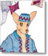 Flying Chihuahua's Metal Print