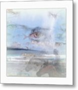 Flying Fishes Metal Print