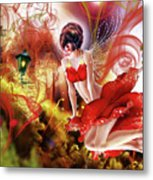 Flying Flower.. Eve Metal Print