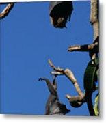 Flying Foxes In Sydney Metal Print