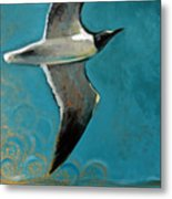 Flying Free Metal Print