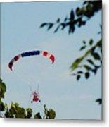 Paraplane Flying High Metal Print