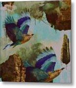 Flying Islands Metal Print