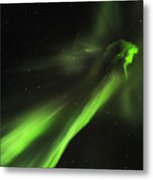 Flying Lights Metal Print