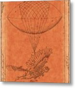 Flying Machine - 01c02 Metal Print
