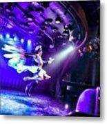 Flying Tango Metal Print