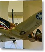 Flying Tigers Aircraft Metal Print