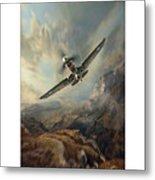 Flying Tigers Xxl Metal Print