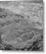 Foam Frozen In Time Metal Print