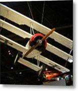 Focker Tri-plane Metal Print