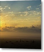 Fog 4 Metal Print