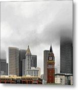 Fog Accents Of Seattle Wa Metal Print