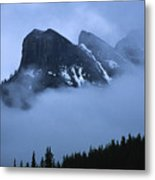 Fog And Clouds Metal Print