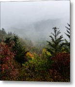 Fog And Drizzle. Metal Print