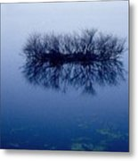 Fog Of Blue Metal Print