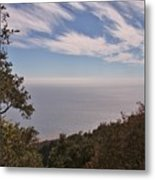 Fog Rolling Into The Bay Metal Print