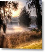 Foggy Dreamworld Metal Print