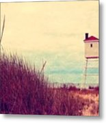 Foghorn At Big Sable Point Metal Print