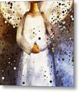 Folk Art Angel Metal Print