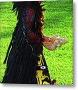 Folk Costume In Mexico 2 Metal Print