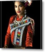 Folk Dancer Of The North East Metal Print