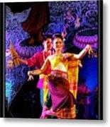 Folk Dancing Of Isaan Metal Print