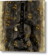 Folk Guitar Metal Print