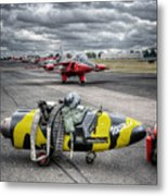 Folland Gnat  Metal Print