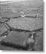Follow The Brick Road Metal Print