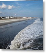 Folly Beach Charleston Sc Metal Print