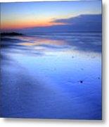 Folly Beach Dawn II Metal Print