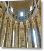 Fontevraud Abbey Chapel, Loire, France Metal Print