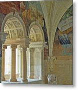Fontevraud Abbey Refectory, Loire, France Metal Print