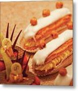Food - Cake - Little Cakes Metal Print