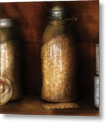 Food - Corn Yams And Oatmeal Metal Print