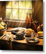 Food - Ready For Guests Metal Print