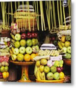 Food In Bali Metal Print