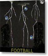 Football Universe Metal Print