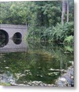 Footbridge Buckeye Falls Metal Print