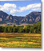 Foothills Of Colorado Metal Print