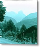 Foothills Of The Alps Metal Print