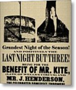 For The Benefit Of Mr Kite Metal Print by Bill Cannon