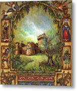 For The Love Of Castles Metal Print