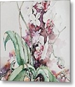 For The Love Of Orchids Metal Print